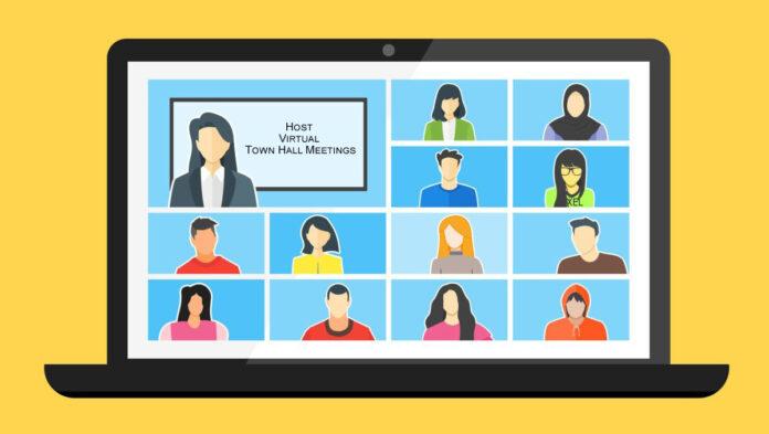 Host Virtual Town Hall Meetings