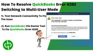QuikcBooks Error Message H202