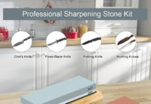 How to sharpen a knife whetstone
