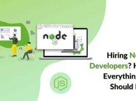 Must-have Skills in Node.js developers SoftSuave