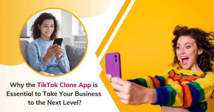 Tiktok clone App
