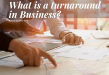 What is a turnaround in business
