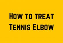 how to treat tennis elbow