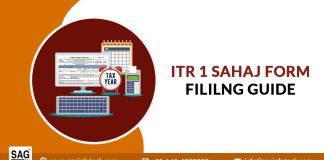 File ITR 1 Sahaj Form For AY 2021-22