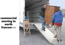 commercial moving in Vancouver