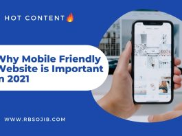 Why Mobile Friendly Website is Important in 2021